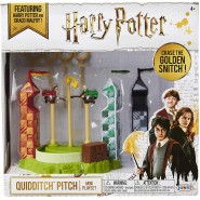 QUIDDITCH FIELD With 2 Figures Mini PLAYSET Original Harry Potter Warner Bros JAKKS