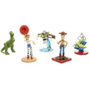 BOX Set 5 characters 9cm TOY STORY Buzz Woody T-rex Aliens Jessie DISNEY Pixar Original Jakks