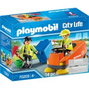 PLAYMOBIL Playset RECYCLING VEHICLE Serie City Life 70203