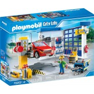 Playset MECHANICAL GARAGE Playmobil City Life Car 70202