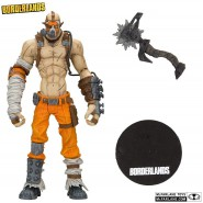 BORDERLANDS 3 Action Figure KRIEG 17cm + Accessories Original Videogame MCFARLANE
