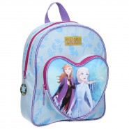 BACKPACK With Heart Pocket FROZEN 2 Find Your Way 31x25x9cm Elsa Anna from MOVIE ORIGINAL School DISNEY
