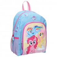 Backpack MY LITTLE PONY Trio Smiling Happy 32x29x11cm from Cartoon ORIGINAL School Sport