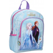 BACKPACK With Pocket FROZEN 2 Find Your Way 32x23x11cm Elsa Anna from MOVIE ORIGINAL School DISNEY