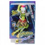Monster High FRANKIE STEIN ELECTRIFIED Doll Figure 27cm SOUNDS LIGHTS Mattel DVH72