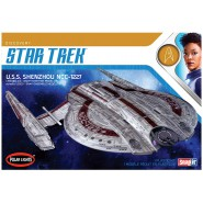 STAR TREK Model Kit U.S.S. SHENZHOU NCC-1227 Snap Kit 1:2500 Polar Lights