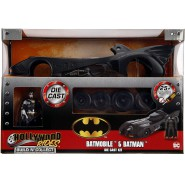 BATMAN KIT Die Cast 1989 Batmobile Scale 1:24 20cm with Figure BUILD N' COLLECT Jada Toys