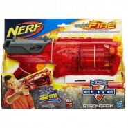 NERF Gun STRONGARM ELITE Special Version SONIC FIRE Red ORIGINAL Hasbro