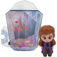 Frozen 2 Find The Way FIGURE ANNA WITH DISPLAY HOUSE Whisper And Glow Disney Giochi Preziosi