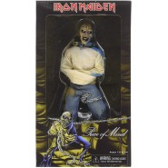Action Figure of EDDIE from PIECE OF MIND Album Cover 1983 IRON MAIDEN 20cm Retro Doll NECA