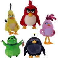 COMPLETE SET 5 Plush ANGRY BIRDS 20cm Characters RED, CHUCK, BOMB, PIG, STELLA Original ROVIO White House