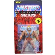 ROBOT HE-MAN Action Figure 14cm MASTER OF THE UNIVERSE Duplicate Robotic Greyskull Original Super7