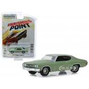 Model 1970 CHEVROLET CHEVELLE from VANISHING POINT 8cm Scale 1/64 DieCast Greenlight