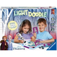 FROZEN 2 TABLET Light Doodle With Stamps Draw everywhere Original RAVENSBURGER