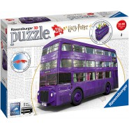 Harry Potter NIGHT BUS 28cm Original PUZZLE 3D 216 Pieces RAVENSBURGER
