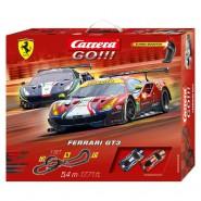 Electric SLOT CAR Racing 5,4 Meters FERRARI GT3 Car 488 GTE Versus 488 GT3 Scale 1:43 CARRERA GO