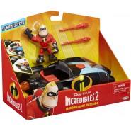 CAR Playset Rocket Launcher MR. INCREDIBLE From Incredibles 2 Original DISNEY Jakks Pacific