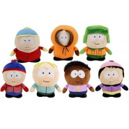 SOUTH PARK Set 7 Plush 14cm Kenny Kyle Eric Stan Leopold Wendy Token ORIGINAL Comedy Central
