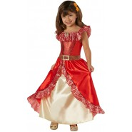Carnival COSTUME of ELENA OF AVALOR Version DELUXE Size LARGE 7-9 YEARS Original RUBIE'S Rubies