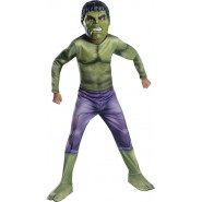 Carnival COSTUME of HULK With Plastic Mask SIZE LARGE 8-10 YEARS  Original RUBIE'S Rubies