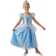 Carnival COSTUME of CINDERELLA STORYTELLER Size LARGE 7-9 YEARS Original RUBIE'S Rubies