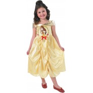 Carnival COSTUME of BELLE Size MEDIUM 5-6 YEARS Original RUBIE'S Rubies