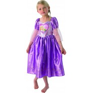 Carnival COSTUME of RAPUNZEL Loveheart Size SMALL 3-4 YEARS Original RUBIE'S Rubies