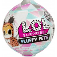 L.O.L. SURPRISE Ball Sphere FLUFFY PETS Winter Disco SERIE 1 Official ORIGINAL LOL MGA