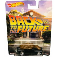 Die Cast Model FORD SUPER DELUXE With Shit From BACK TO THE FUTURE 1:64 7cm Hot Wheels Premium Real Riders