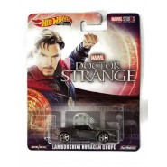 Die Cast Model LAMBORGHINI HURACAN COUPE Of DOCTOR STRANGE 1:64 7cm Hot Wheels Premium Real Riders MARVEL