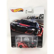 Die Cast Model  ACURA NSX GT3 From Project Cars 2 1:64 7cm Hot Wheels Premium Real Riders