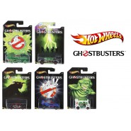 GHOSTBUSTERS Lot 7 Different Models CARS Scale 1:64 MATTEL Hot Wheels DIE CAST
