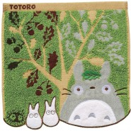 My Neighbour TOTORO Mini TOWEL 25x25cm ORIGINAL Studio Ghibli