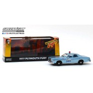 1977 PLYMOUTH FURY Model Police Car 12cm DieCast 1/43 From the Movie Beverly Hills Cop ORIGINAL Greenlight