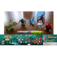 SET 5 Figures POKEMON Maxi Collection Special EMERALD VERSION Original BANDAI