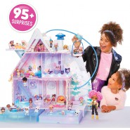 L.O.L. Surprise Giant Playset CHALET WINTER DISCO Original MGA LOL