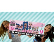 L.O.L. AMAZING Surprise Giant BOX with 14 Esclusive Dolls More than 70 Surprises Original MGA LOL