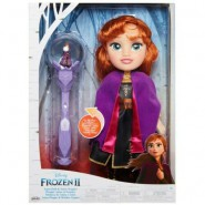 Figure Doll ANNA 35cm with Snow Scepter from FROZEN 2 MOVIE Official DISNEY Jakks Giochi Preziosi