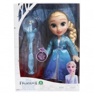 Figure Doll ELSA 35cm with Snow Scepter from FROZEN 2 MOVIE Official DISNEY Jakks Giochi Preziosi