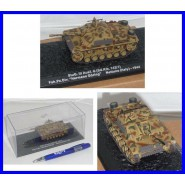 DieCast Model German Tank PANZER Sd Kfz 142/1 ITALY 1944 Scale 1/72 ALTAYA with CASE