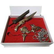 FINAL FANTASY VII Advent Children BOX Jewels Necklace Pendant