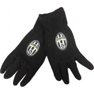 JUVENTUS F.C. GLOVES Black Logo Vintage Different Sizes Original Serie A Italy Football