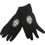 JUVENTUS F.C. GLOVES Black Logo Vintage Different Sizes Original Serie A Italy Football