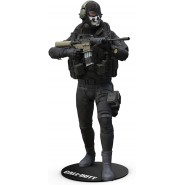 CALL OF DUTY Black Ops Action Figure SIMON RILEY Ghost 15cm + Accessories Original Videogame MCFARLANE
