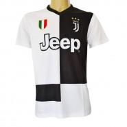 CRISTIANO RONALDO Number 7 JUVENTUS 2019/2020 T-Shirt Jersey HOME Official Replica CR7