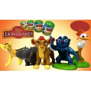 LION GUARD Complete Set 5 Mini FIGURES 5cm for Collectors ORIGINAL Cake Topper Decoration DISNEY