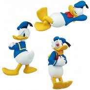 DONALD DUCK Lot 3 FIGURES Emotional 85 years Collection DISNEY TOMY Gashapon