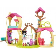 ENCHANTIMALS  Big Playset PLAYHOUSE PANDA SET Tree House Original MATTEL