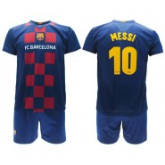 LEO Lionel MESSI 10 FC BARCELONA Kit JERSEY + SHORTS Home Blau Grana 2019/2020 T-SHIRT Replica OFFICIAL Authentic