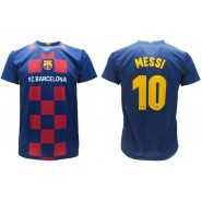 LIONEL LEO MESSI Number 10 BARCELONA FCB Jersey 2019/2020 Barca T-SHIRT Replica OFFICIAL Authentic